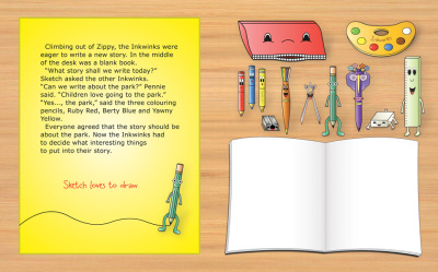Park Picture Storybook - pages 1 - 2