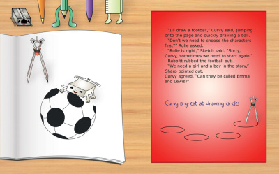 Park Picture Storybook - pages 3 - 4